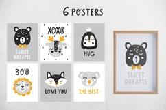 Baby Scandinavian animals Clipart Bundle for nursery q Product Image 2