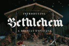 Web Font Bethlehem Product Image 1