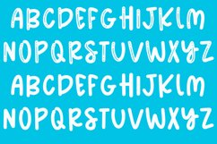 Summer Meadows - Shiny & Solid Fun & Quirky Font Product Image 4