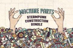 Steampunk machine parts bundle Product Image 1