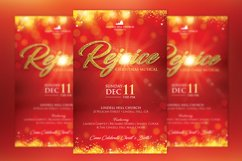 Rejoice Christmas Flyer Poster Template Product Image 2