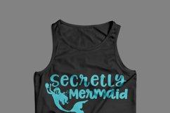Secretly a Mermaid svg digital cut file Mermaid Love Product Image 4