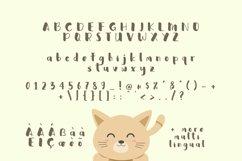 Web Font Sweety Cat Product Image 4