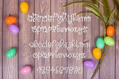 Snuggle Bunny Font Plus Easter Monogram Font and SVG Product Image 2