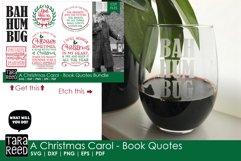 A Christmas Carol Book Quotes - Christmas SVG files Product Image 2