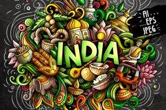 INDIA Cartoon Doodle Illustration Product Image 3