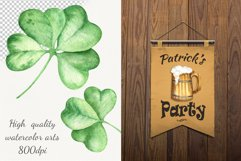 """""""St.Patrick's Day"""" watercolor set Product Image 3"""