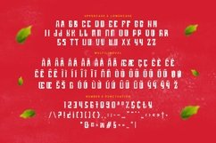 Web Font Futursix Product Image 2