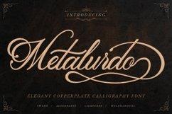 Classic Script - Metalurdo Calligraphy Font Product Image 1