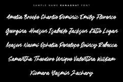 Ranaghat   Handwritten Script Font Product Image 5