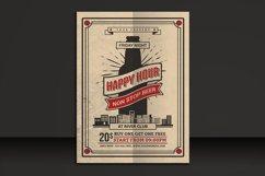 Happy Hour Beer Flyer Product Image 1