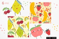 Funny fruits & vegetables, Seamless pattern. Product Image 3