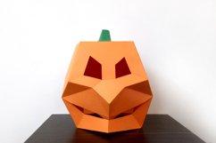 DIY Pumpkin Mask - 3d papercraft Product Image 6