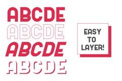 Kodek Typeface Product Image 2