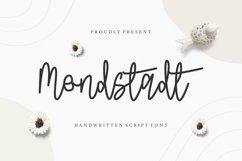 Web Font Mondstadt Display Font Product Image 1