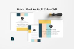 Minimal Abstract Wedding Suite Product Image 5
