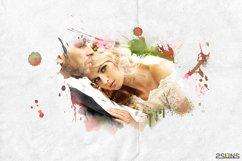 20 Beautiful portrait paint masks, photo frame, Photoshop Product Image 3