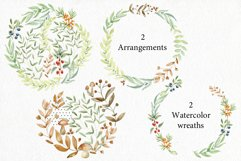 Woodland. Watercolor set. Product Image 6