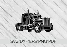 Truck, Lorry, HGV  SVG Cutting File  Product Image 4