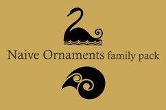 Naive Ornaments Family Pack (seven fonts) Product Image 2