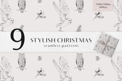 Christmas digital papers - Winter seamless patterns Product Image 1