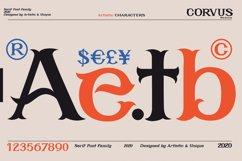 CORVUS Serif font Family Product Image 2