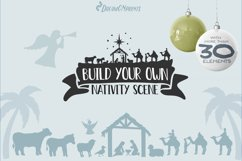 Nativity SVG Bundle | Christmas Nativity Bundle SVG Product Image 5