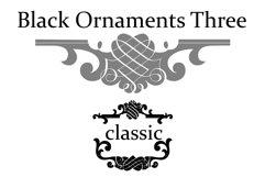 Black Ornaments Three Product Image 3