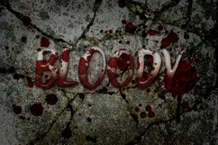 8 Spooky Text Effects on Fully Editable PSD Templates Product Image 4