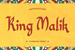 King Malik - Turkish Font Product Image 1