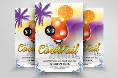 10 Summer Cocktail Party Flyers Bundle Product Image 3
