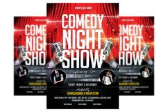 Comedy Show - Flyer Template Product Image 1