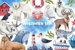 Northern Sea Watercolor Set Product Image 1