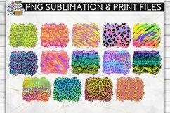 Colorful Animal Print Bundle 42 Sublimation Background PNG Product Image 2