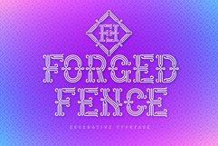 Forged Fence Typeface Product Image 1
