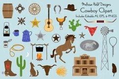 Cowboy Clipart Product Image 1