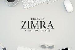 Zimra Serif Font Family Product Image 1