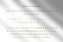 Visual Hollow Font Trio Product Image 7