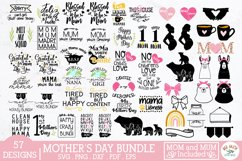 Mothers Day SVG bundle,mom svg,mum svg,mom quotes,mom bear Product Image 1