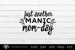 Funny Mom Quote Svg Cut File| Mothers Day Cricut File Product Image 2