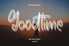 Web Font Goodtime - An SVG Font Product Image 1
