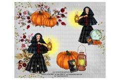 Halloween Clip art Witch Clip Art Pumpkin Clipart Product Image 2
