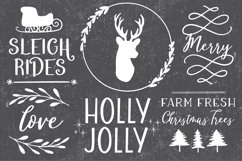 Farmhouse Christmas Dingbats Product Image 4