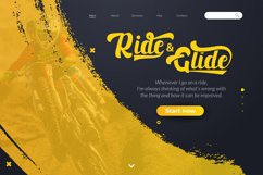 Black Ryder - Bold Script Font Product Image 3