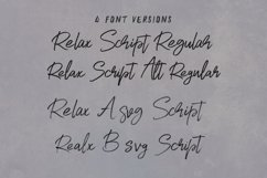 Relax SVG Marker Script Font Product Image 2