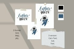 Explore more SVG, Space Astronaut Cat SVG, Cat SVG Product Image 4