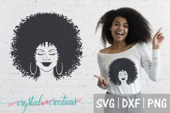 Afro Bundle 5 Different files SVG, DXF, PNG, Afro svg Product Image 5