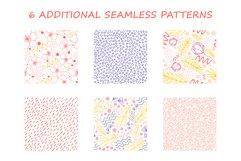 Organic natural seamless pattern set Product Image 8