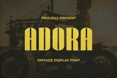 Adora Font Product Image 1