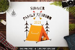 Summer Family Reunion SVG Sublimation Let's Go Travel TShirt Product Image 2